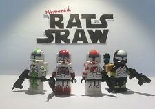 Lego Star Wars minifigures - Clone Custom Troopers - Delta Squad