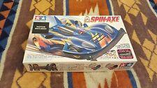 Vintage Tamiya 1/32 Mini 4wd Spin-Axe plus extra motors Original 1995 Rare