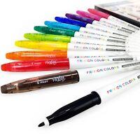 Pilot Frixion Colors Erasable Marker Pens – Wallet of 12 Assorted Colours