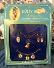 Holly Hobbie Vinage Jewelry Set Charm Bracelet In Box