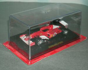 1/43 Scale Ferrari F2002 Formula One F1 Race Car #1 (M Schumacher) IXO Models