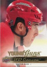 14/15 UPPER DECK YOUNG GUNS CANVAS ROOKIE RC #C97 VICTOR RASK HURRICANES *43272