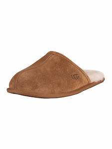 UGG Men's Scuff Suede Slippers, Brown