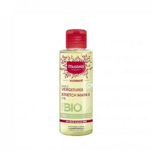 Mustela Maternite Stretch Marks Organic Oil Fragrance-Free 105ml all skin types