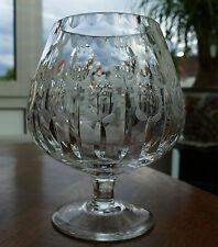 Geschliffener Bleikristall Pokal - Vase im Design eines Cognacschwenkers 1,5 kg