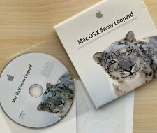 Mac OS X Snow Leopard 10.6 Retail in Original Box - gebraucht