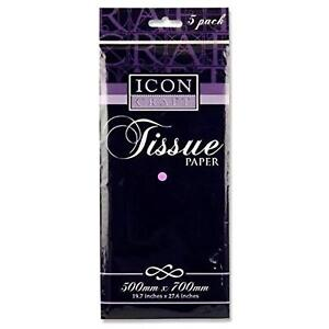 Premium Tissue Paper - Lilac. Pack of 5 Sheets.