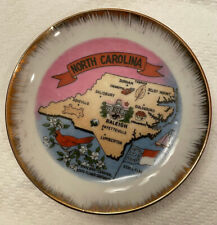 Vintage Kenmar Mini North Carolina Collector's 4� Plate