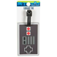 Protege Luggage Tag Video Game Vintage Nintendo NES Style