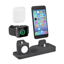 Dock De Chargement 3En1 Pour Iphone Apple Watch Support Station Chargeur