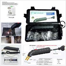 Car SUV Bumper Welder Gun Hot Stapler Plastic Repair Kit With 500pcs Hot Stapler