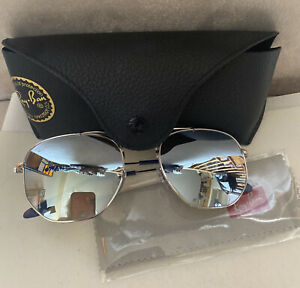 Ray-Ban MARSHAL RB 3648 Silver Mirrored Sunglasses