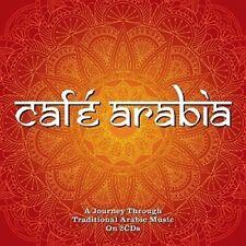 CAFE ARABIA  (RINDA, SAUOD HASHEM, HALFI, MOHAMMAD SALMAN, ...) 2 CD NEU