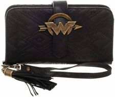 Wallet Wonder Woman Dc Comics Fringe Bifold Black Wallet Bioworld