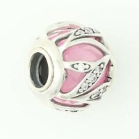 NEW Authentic Pandora Nature's Radiance Charm -Sterling Clear CZs Pink 791969PCZ