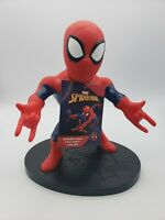 """Spiderman PVC Soft Figure Marvel Kids Toy 9"""" Collectible Talks New With Tags"""
