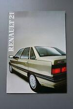 UK Sales Brochure Renault 21 Petrol & Diesel
