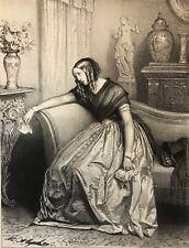 La Duchesse d'Hanspar Edmond Texier circa 1850