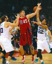 COLE ALDRICH signed LOS ANGELES CLIPPERS 8X10 PHOTO COA A