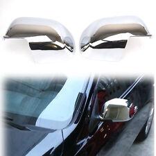 Chrome Door Mirror Cover For Nissan Micra K13 10-13 Almera Latio Trim Garnish