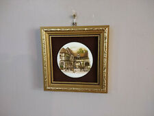 Medieval Style Theme Small Wall Hanging Ceramic Picture Room Wall Decor