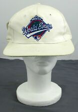 MLB Genuine Merchandise 1992 Baseball World Series White Adjustable Snapback Hat