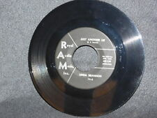 """RARE Rockabilly Linda Brannon """"Just Another Lie"""" on RAM 1478 plays nice VG+"""