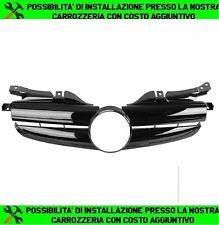 GRIGLIA ANTERIORE MERCEDES CLASSE SLK R170 NERO-LUCIDA 0025