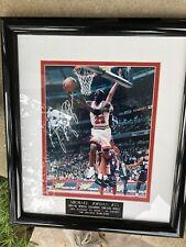 MICHAEL JORDAN Autographed 8X10 Photo 1995-96 World Championship Framed