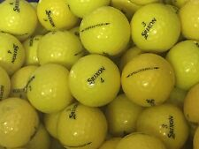 36 Srixon Yellow Trispeed Tour AAAA Near Mint Golf Balls Free Tees