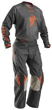 Size L-32 Set Jersey Trousers Thor Phase off Road Grey Out Orange Enduro