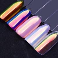 Born Pretty Nagel Puder Nail Glitzer Pulver Meerjungfrau Chrom Pigment Nail Art
