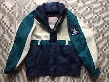 Helly Hansen Vintage Seaman Sailing Jacket Heavy Nylon Hooded Men's SMALL
