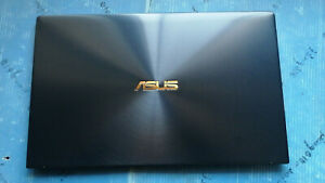 Blue LCD Back Cover for Asus ZenBook 14 UX433F/UX433FD with Hinges