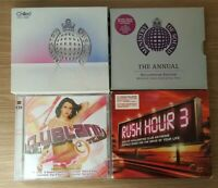 Dance And Club Anthems Cd's Ministry Of Sound Annuals, Clubland And Rush Hour 3