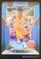 Ja Morant 2019-20 Panini Prizm Draft Picks Basketball Blue Rookie Card RC #65