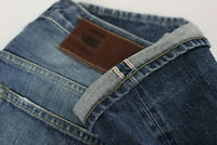 G-STAR RAW 3301 LOW TAPERED RL RED SELVEDGE Men's W32/L34 Rigid Jeans 28146-JS