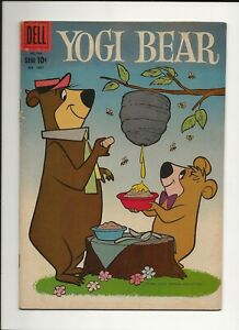 YOGI BEAR #1067 1960 DELL FOUR COLOR HANNA-BARBERA CARTOON VG
