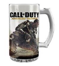 CALL OF DUTY Glass Stein - Advanced Warfare - Mug Cup Beer Glass Man Cave Bar