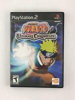 Naruto: Uzumaki Chronicles - Playstation 2 PS2 Game - Tested