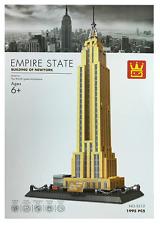 Empire State Building New York Building Blocks Bricks - Wange