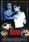 Внешний вид - Bound (1996) Movie Poster International, Reproduction, SS, Unused, NM, Rolled