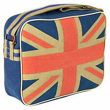 Bag Union Jack Sports Shoulder Messenger Retro Classic UK Flag Great Britain