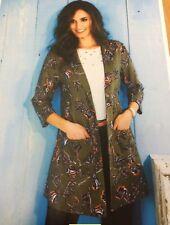 Ladies Longline Summer Jacket (Cotton Trader) Size 16*SPECIAL OFFER*