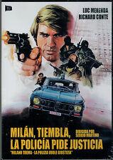 Milan tiembla  la policia pide justicia (DVD Nuevo)