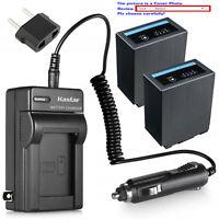 Kastar Battery AC Travel Charger for CGA-D54 Pro & Panasonic AG-DVC30E AG-DVC32