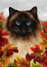 Fall House Flag - Himalayan Cat 13952