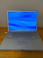 Apple PowerBook A1046 15.2. 1.25 Ghz PowerPc G4