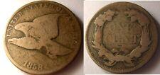 USA Flying Eagle 1 cent 1858 SL
