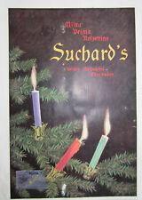 Suchard Milka Velma Weihnachten Schokolade Werbeanzeige Reklame 1911